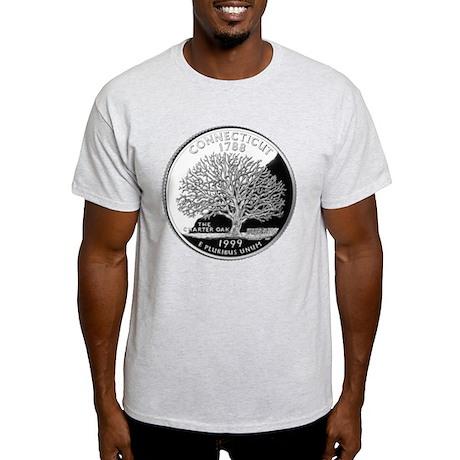 Connecticut Quarter Light T-Shirt