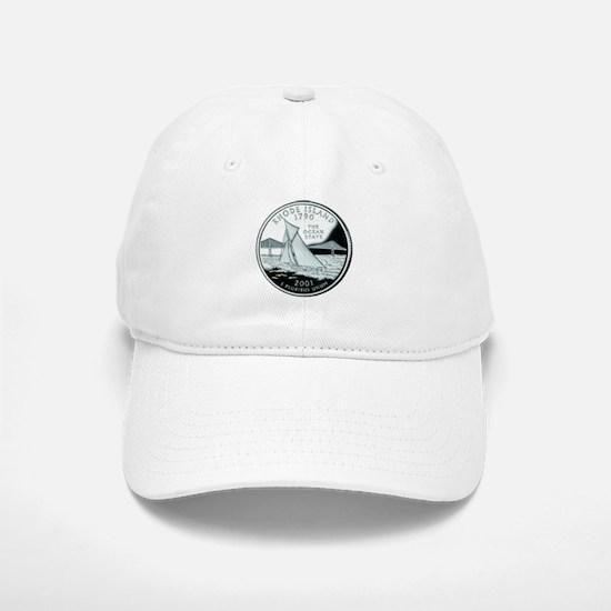 Rhode Island Quarter Baseball Baseball Cap