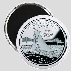 Rhode Island Quarter Magnet
