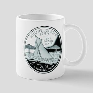 Rhode Island Quarter Mug