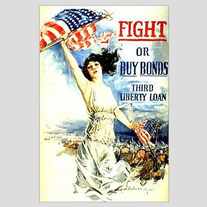 War Bonds Large Poster