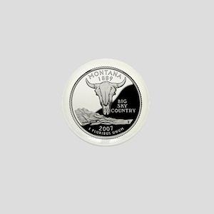 Montana Quarter Mini Button