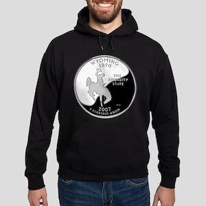 Wyoming Quarter Hoodie (dark)