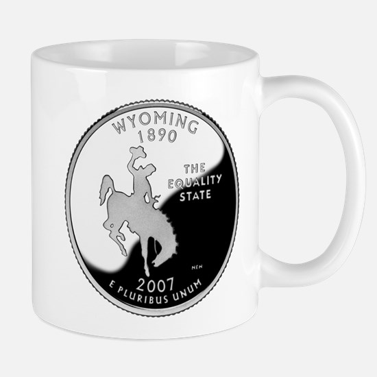 Wyoming Quarter Mug