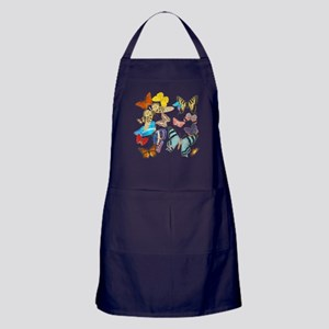 Beautiful Butterflies Apron (dark)