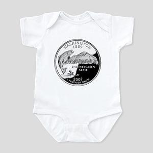Washington Quarter Infant Bodysuit