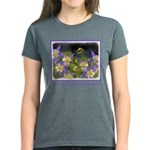Colorado Blue Columbine Women's Dark T-Shirt
