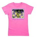 Colorado Blue Columbine Girl's Tee