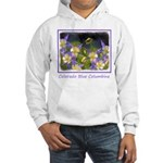 Colorado Blue Columbine Hooded Sweatshirt