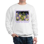 Colorado Blue Columbine Sweatshirt