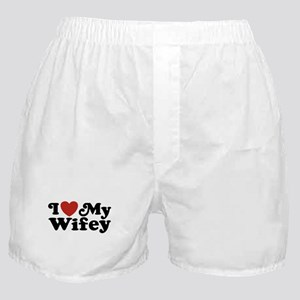 I Love My Wifey Boxer Shorts