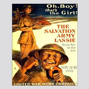 Salvation Army Lass Small Poster