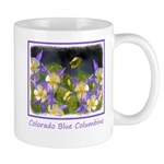 Colorado Blue Columbine 11 oz Ceramic Mug