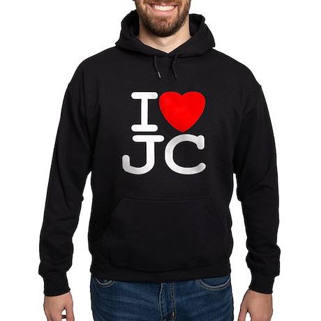 I Love JC Hoodie (dark)