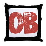 OB Throw Pillow