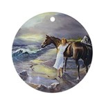 LOST IN THOUGHT Ornament (Round)