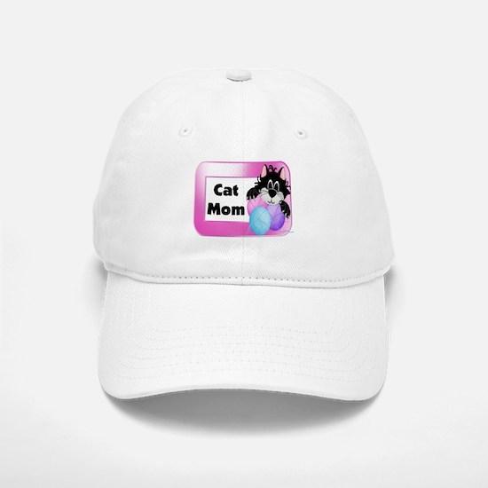 Cat Mom Baseball Baseball Cap