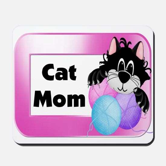 Cat Mom Mousepad