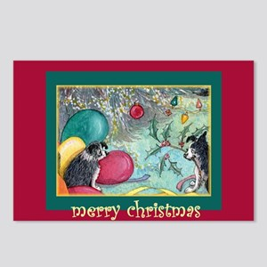Deck the halls with boughs of Postcards (Package o