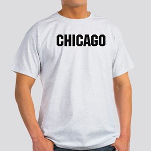 Chicago, Illinois Ash Grey T-Shirt