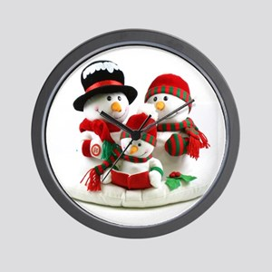 Holidays Wall Clock
