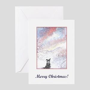 Drifting Silence Greeting Card
