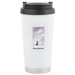 Drifting Silence Stainless Steel Travel Mug