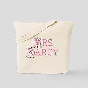Jane Austen Mrs. Darcy Tote Bag