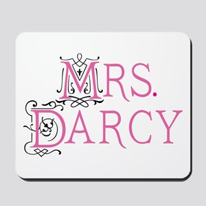 Jane Austen Mrs. Darcy Mousepad