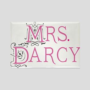 Jane Austen Mrs. Darcy Rectangle Magnet