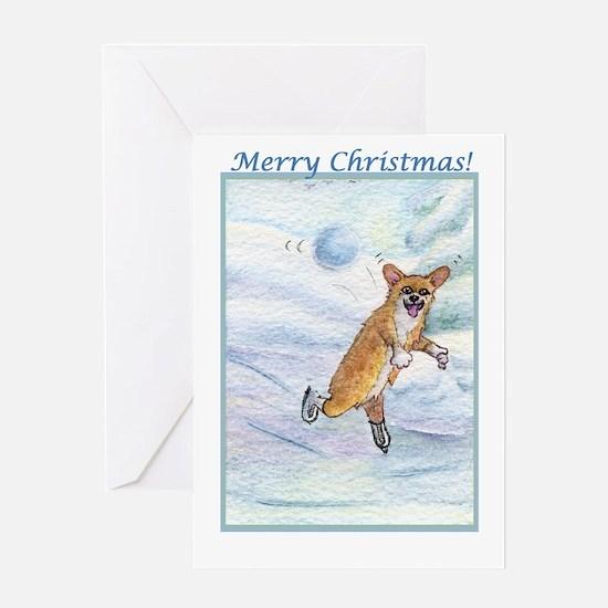 Eek! Incoming snowball! Greeting Card
