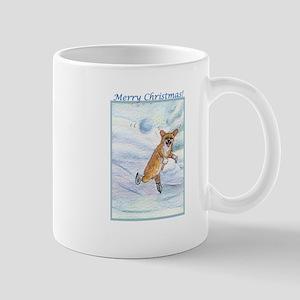 Eek! Incoming snowball! Mug