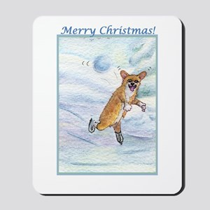 Eek! Incoming snowball! Mousepad
