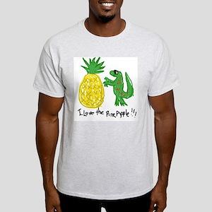 Crazy Pineapple Ash Grey T-Shirt
