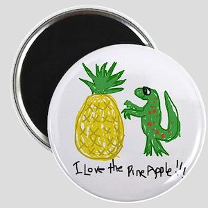 Crazy Pineapple Magnet