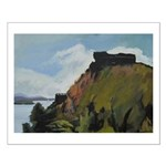 St Lucia Pigeon Island Small Poster