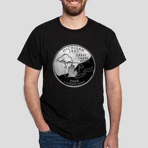 Michigan Quarter Dark T-Shirt