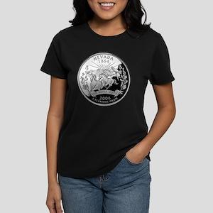 Nevada Quarter Women's Dark T-Shirt