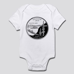 Oregon Quarter Infant Bodysuit