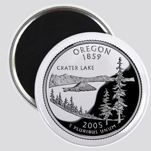 Oregon Quarter Magnet