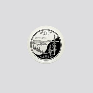 Oregon Quarter Mini Button
