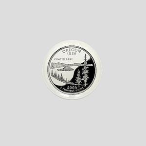 Oregon Quarter Mini Button