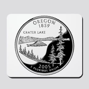 Oregon Quarter Mousepad