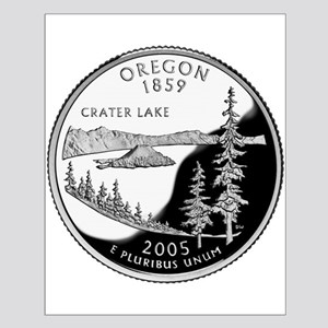 Oregon Quarter Small Poster