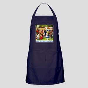 Off With Her Head! Apron (dark)
