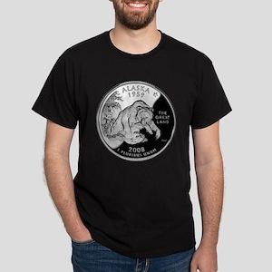 Alaskan Quarter Dark T-Shirt