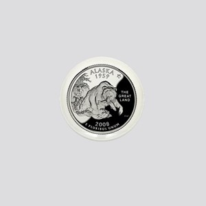 Alaskan Quarter Mini Button
