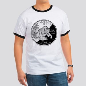 Alaskan Quarter Ringer T