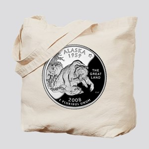 Alaskan Quarter Tote Bag
