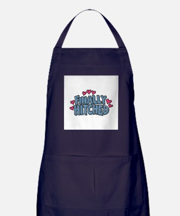 Finally Hitched Apron (dark)